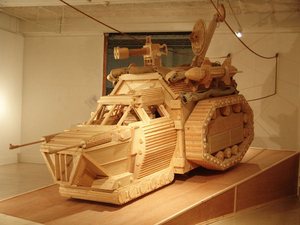 Mike Rea's Wooden Technology Workings