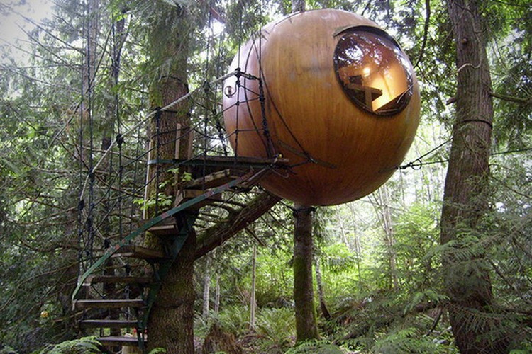 Top 20 Adult Treehouses On The Planet