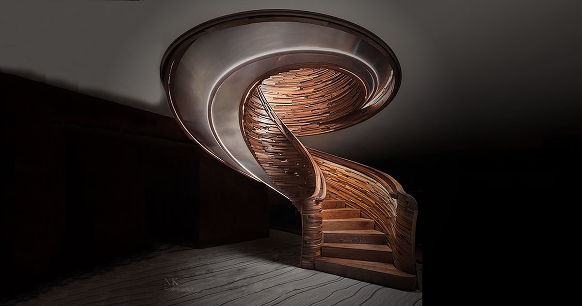 Best Curved Stairs 10 Photos
