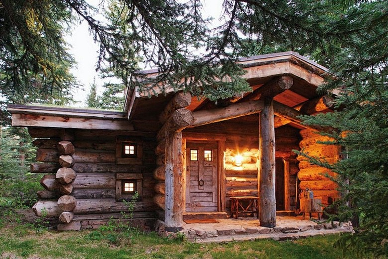 All I Need is a Rustic Little Cabin in the Woods (35 Photos)