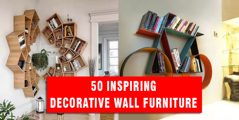 50 Inspiring Decorative Wall Furniture